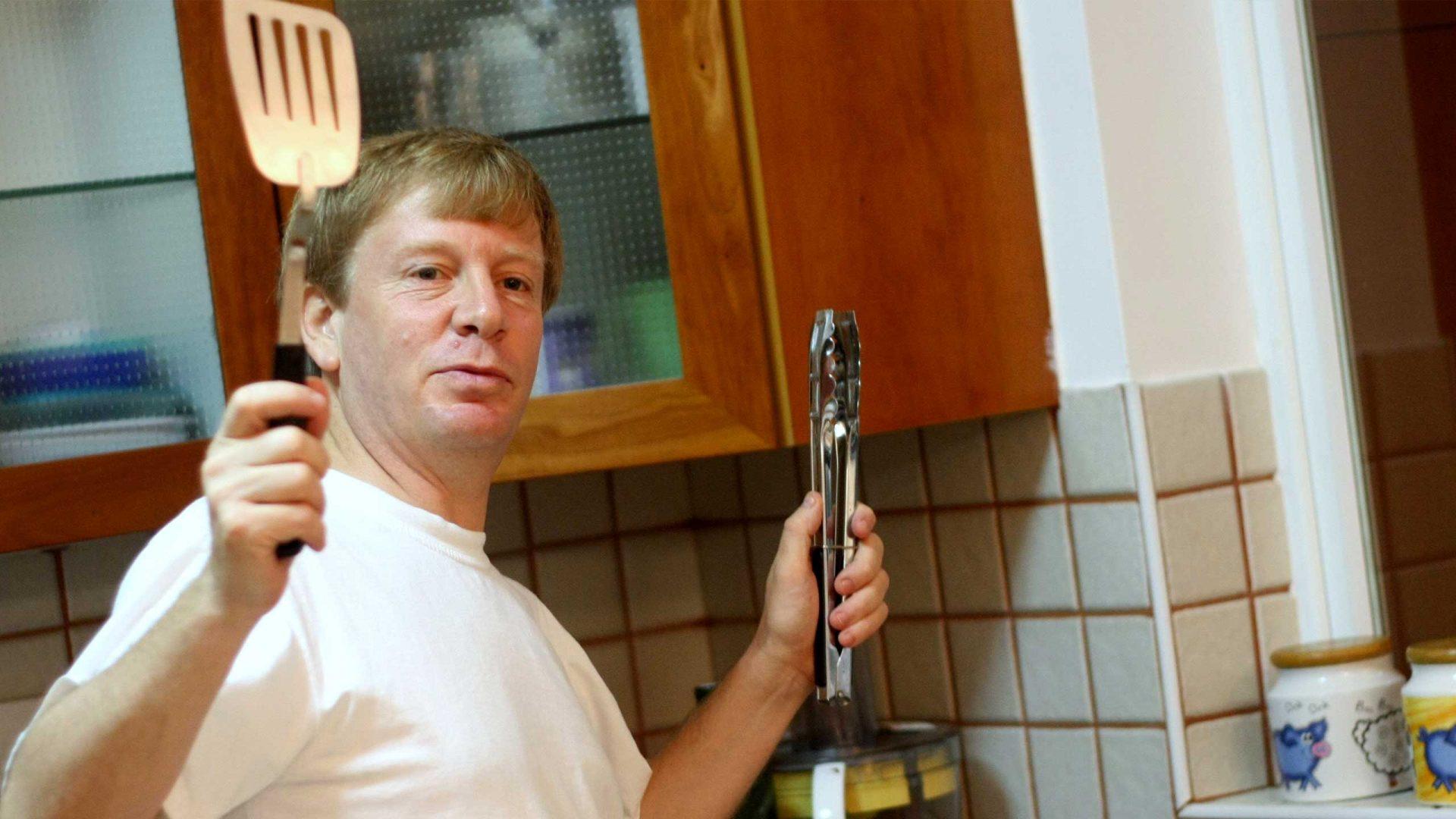 אבי טייטלמן מבשל