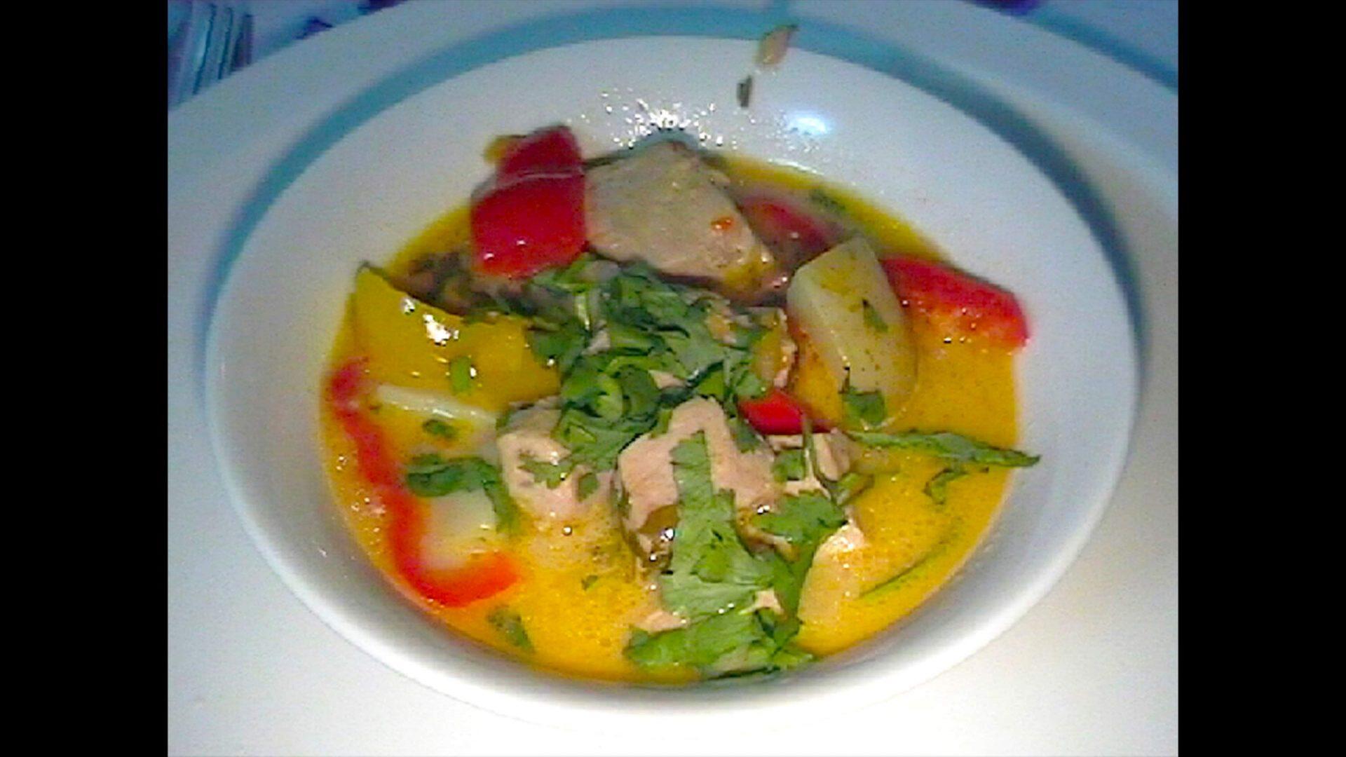 תבשיל טונה טריה Marmitako